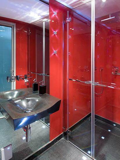 מקלחון בעיצוב מודרני