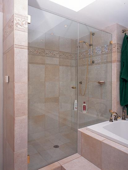 מקלחון בעיצוב כפרי